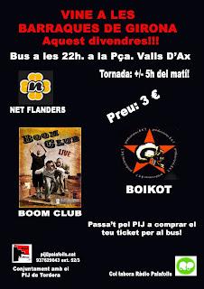 Àrea de joventut de l'ajuntament de PLF organitza un autocar per anar a les Fires de Girona.
