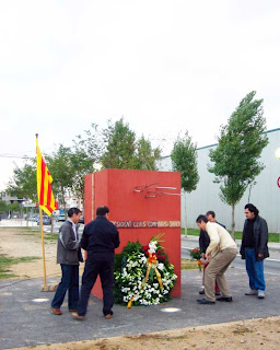 Aquests matí s'ha fet l'homenatge a Lluís Companys a PLF.
