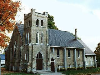 Anglican Church, Brussels, Ontario