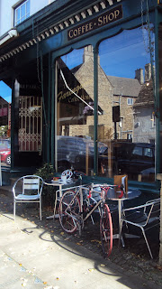 Todays coffee stop..Faringdon