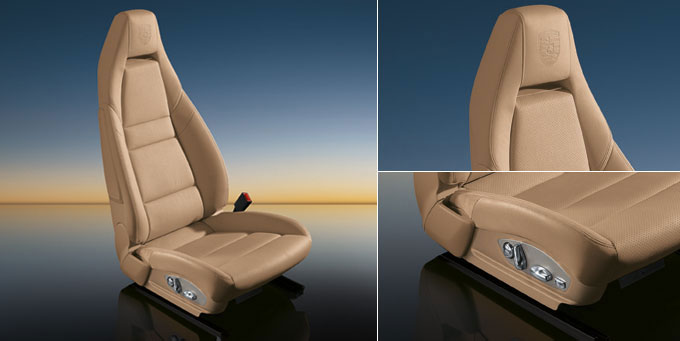 Porsche Cars Accessories 14 Way Power Seats