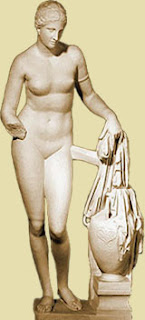 Aphrodite, attributed to Praxiteles