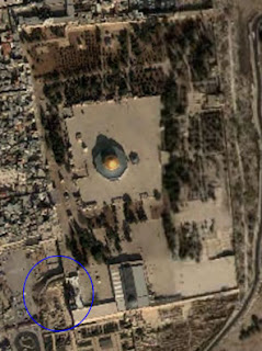 Temple Mount from Google Earth
