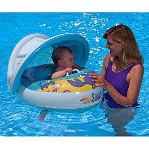 My Baby World Sunshade Baby Float Sun Smart