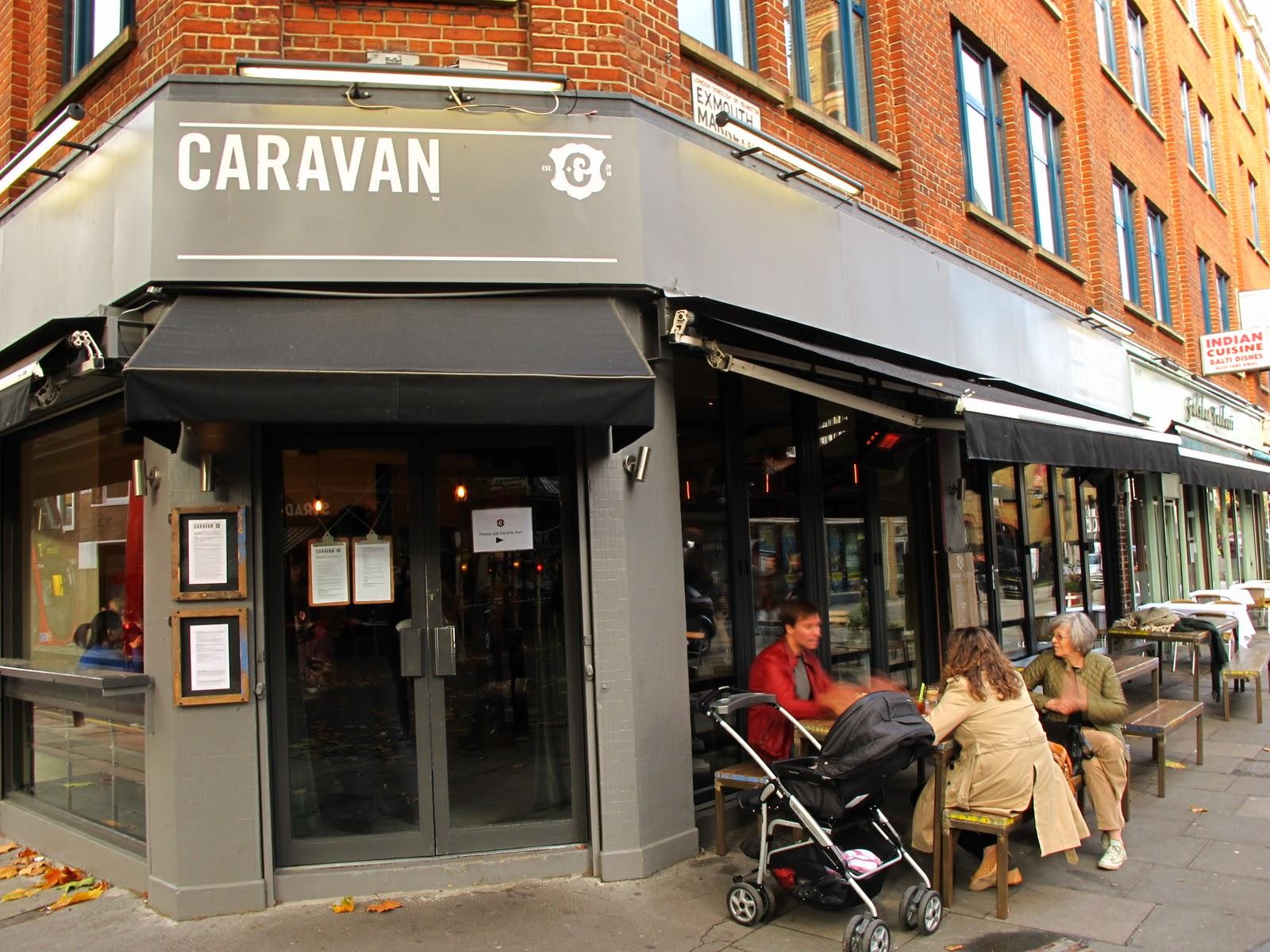 Caravan Brunch In Exmouth Market Clerkenwell Roasted