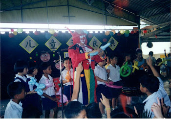 Big Baby The Clown at Primary School
