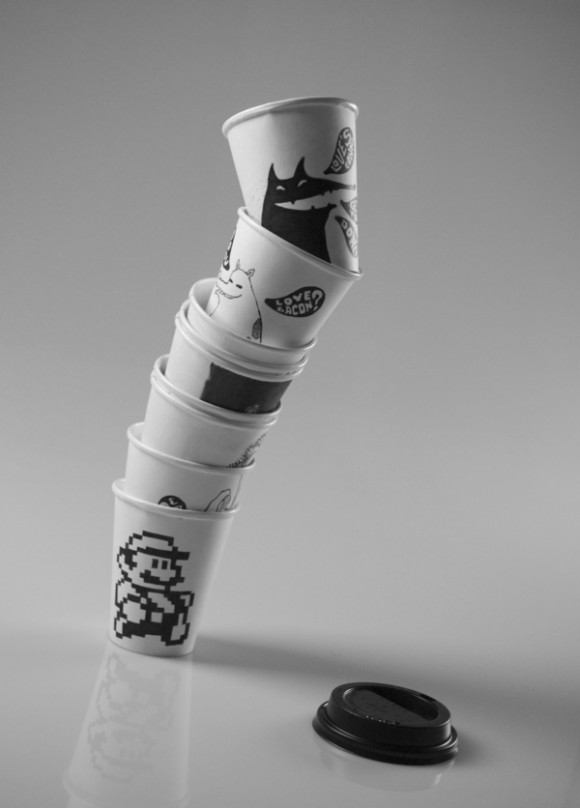 jocundist cups by murilo kleine