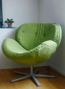 Where To Get Chairs Reupholstered Stool Chair Ebay Jocundist: Hand-knit Sweater