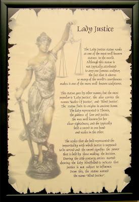 U0026 39 Lady Justice U0026 39  A Symbol