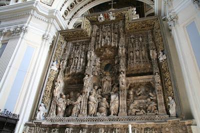 Altar de la Basílica del Pilar