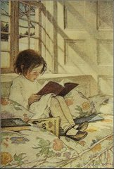 Child reading...