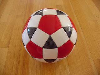 мяч, но с прикольным рисунком