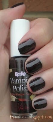 Eyeko Vampira nail polish review