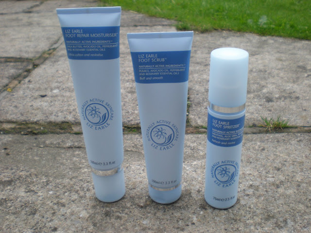 Liz Earle Footcare Range