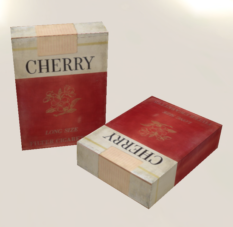 How hot is the cherry of a cigarette