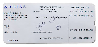 American Express Print Travel Receipt