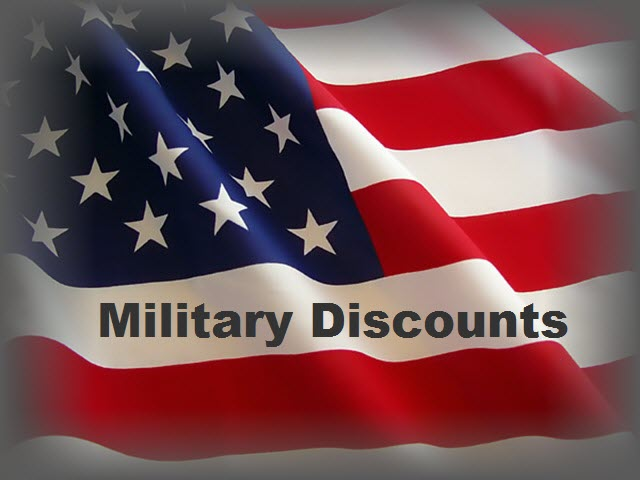 Military Discounts White Marsh Maryland