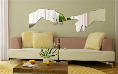 Comment bien choisir son miroir. Miroir_design_michel_ange