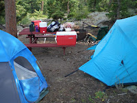 Camping at Hermit Park
