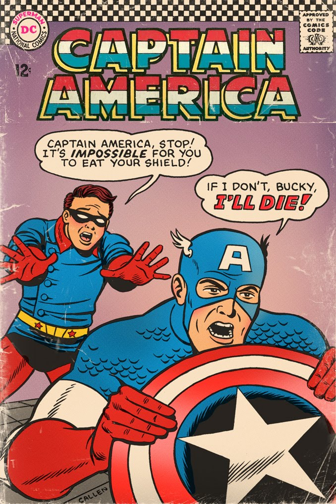Kerry Callen's Blog!: What If DC Published Marvel