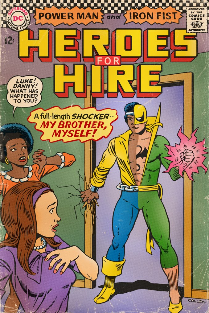 Kerry Callen's Blog!: What If DC Published 1970's Marvel