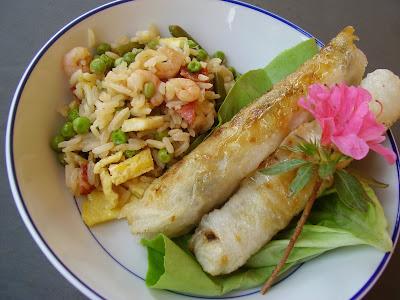 recettes legumes  Riz frit à la chinoise