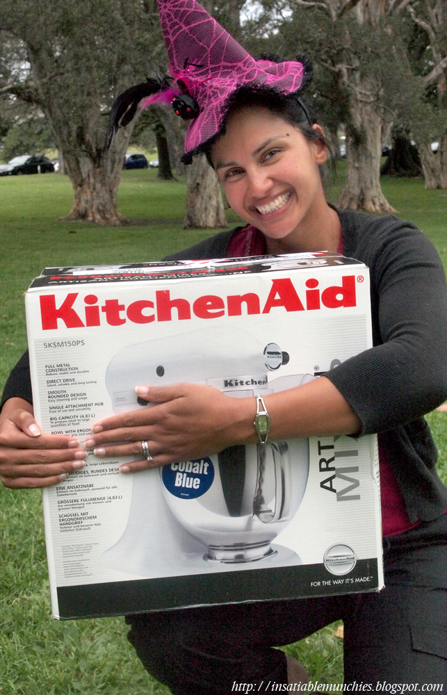 Anita from no red meat with her kitchen aid