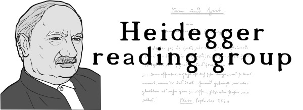 Heidegger Reading Group