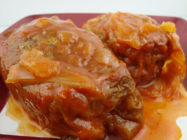 Instant Pot: Stuffed Cabbage Rolls (Galumpkis)
