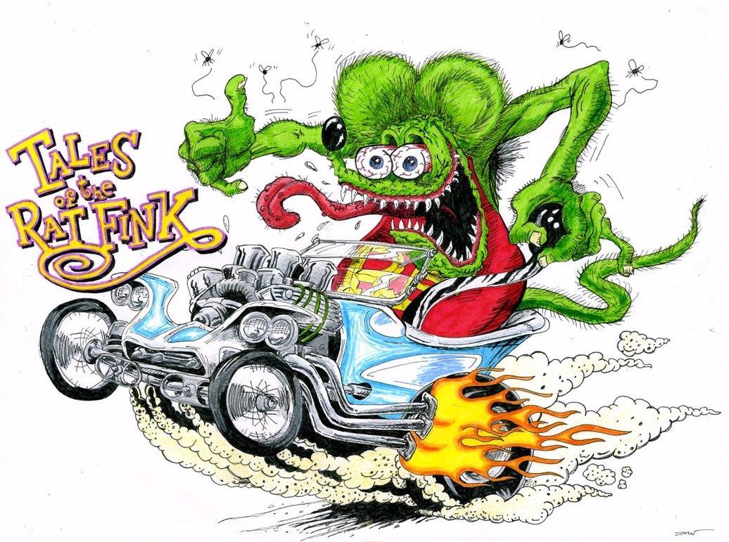 Motorcycle Car Wallpaper Wallpaper Wallpaper Rat Fink
