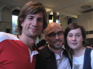 ben, nick and lara