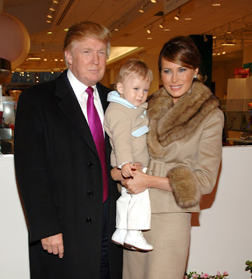 Melania Trump Enjoying Motherhood