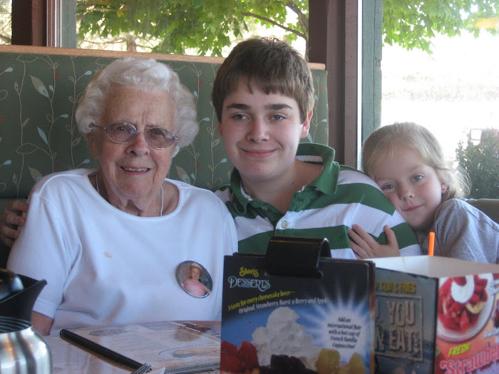 Eating Out with Grandma