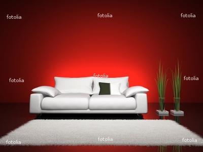 Idee per l 39 arredamento novembre 2010 for Parete rossa soggiorno