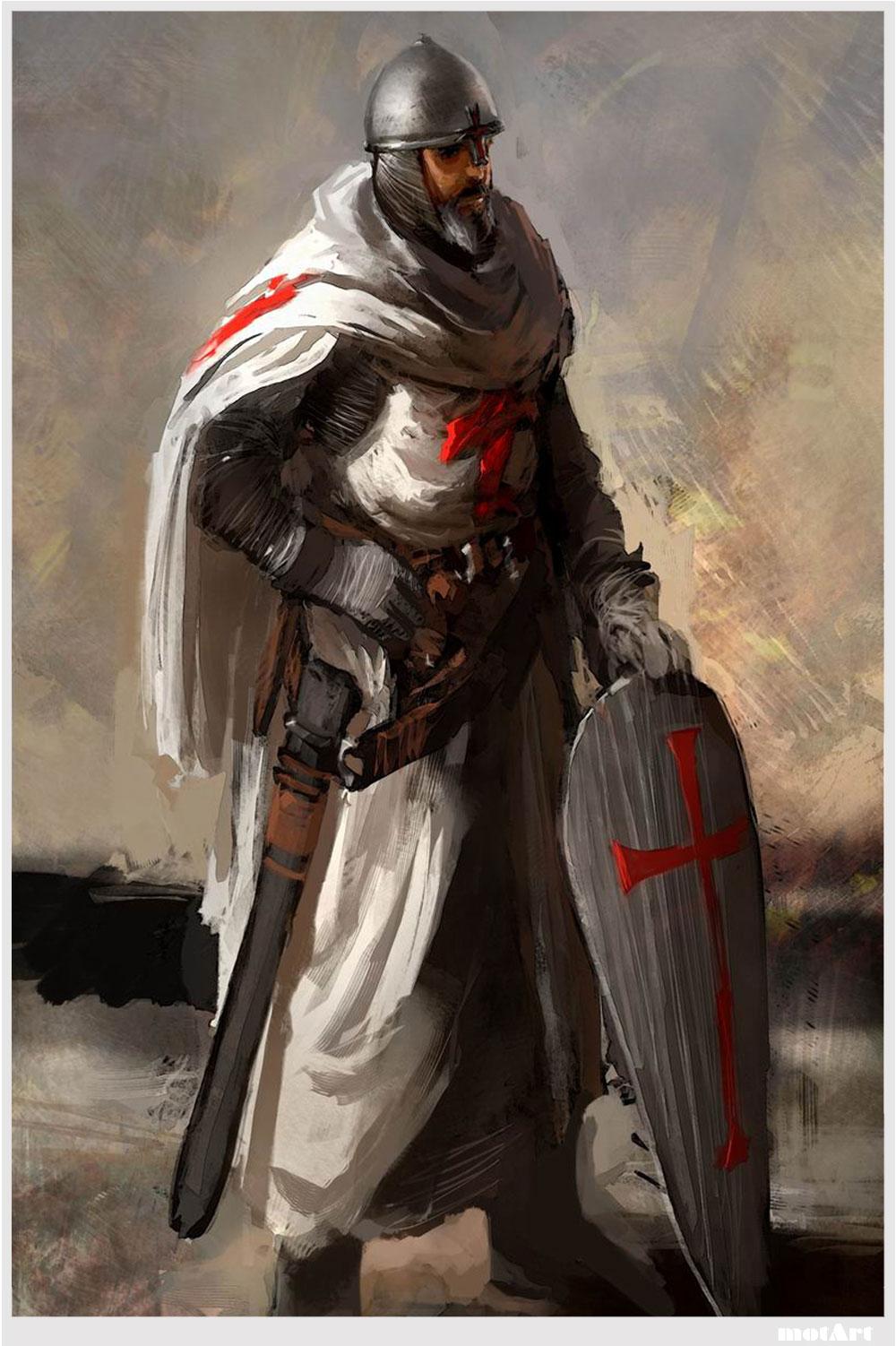the knights templat - motart the knights templar