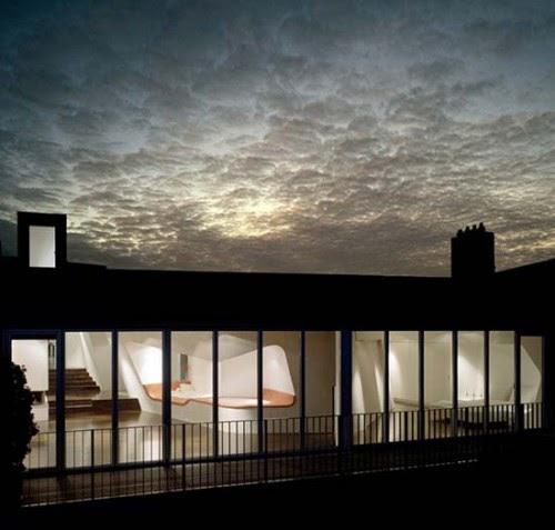 interior design and architecture modern loft gleimstrasse. Black Bedroom Furniture Sets. Home Design Ideas