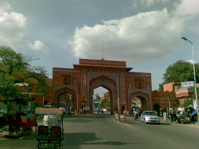 Ajmeri Gate, Street of Jaipur