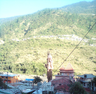 Lord Shiva at the Pilot Baba Ashram - Enroute to Gangotri