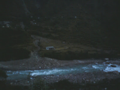River Bhaghirathi at Maneri, 10 km from Uttarkashi