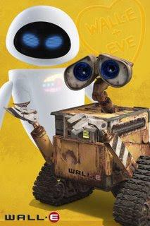 Wall-e y Eve