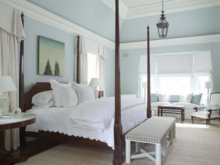 Benjamin Moore Boothbay Gray Master Bedrooms