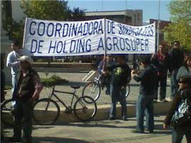LA COORDINADORA APOYA A LOS TRABAJADORES SUBCONTRATADOS DE CODELCO