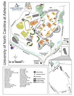 Ab Tech Campus Map Western North Carolina GIS: UNCA Campus Mapping Project Ab Tech Campus Map