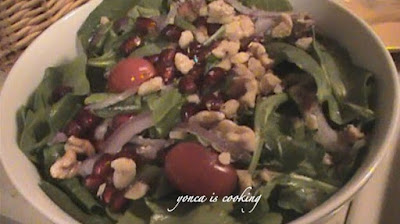 yonca is cooking: Spinach&Arugula Salad