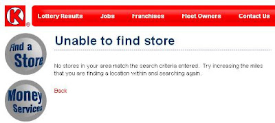 How can you find Circle K locations?
