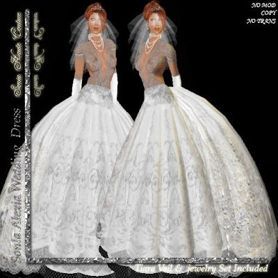 Ballroom Wedding Gowns on Http   Slurl Com Secondlife Alcaid 30 205 28