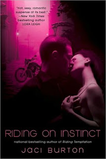 Guest Review: Riding on Instinct by Jaci Burton.