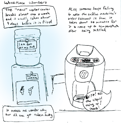 Coffee Maker Broke Meme : most things are disliked (a short autobiography): The Watercooler is Broken Again