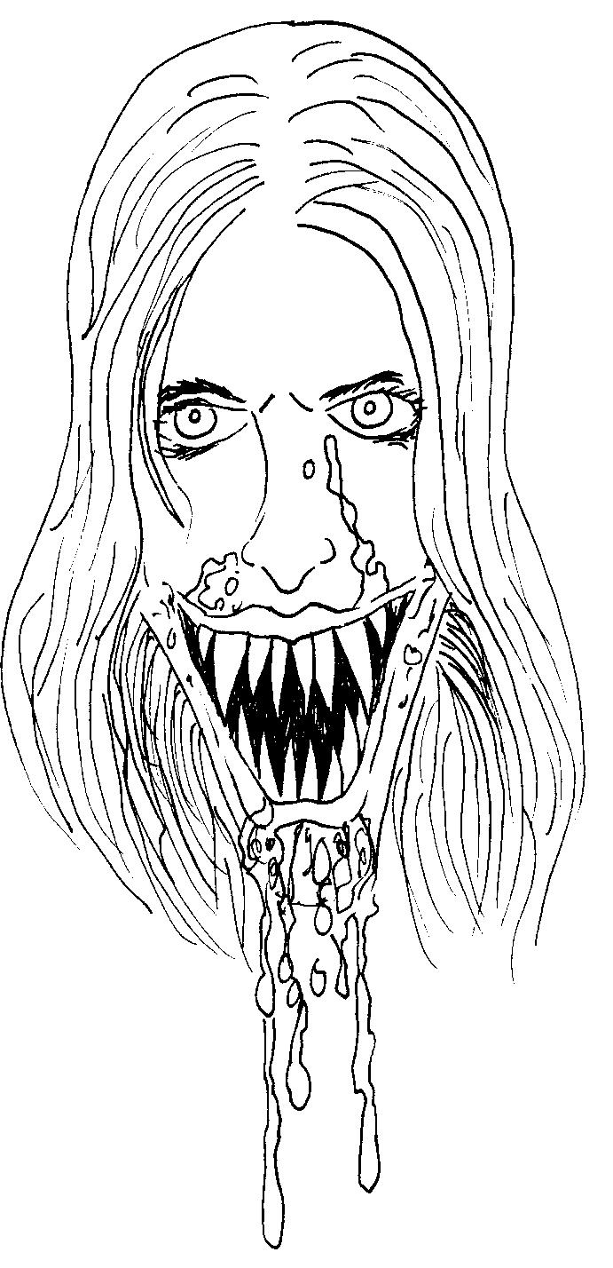 Картинки рисуем вампира