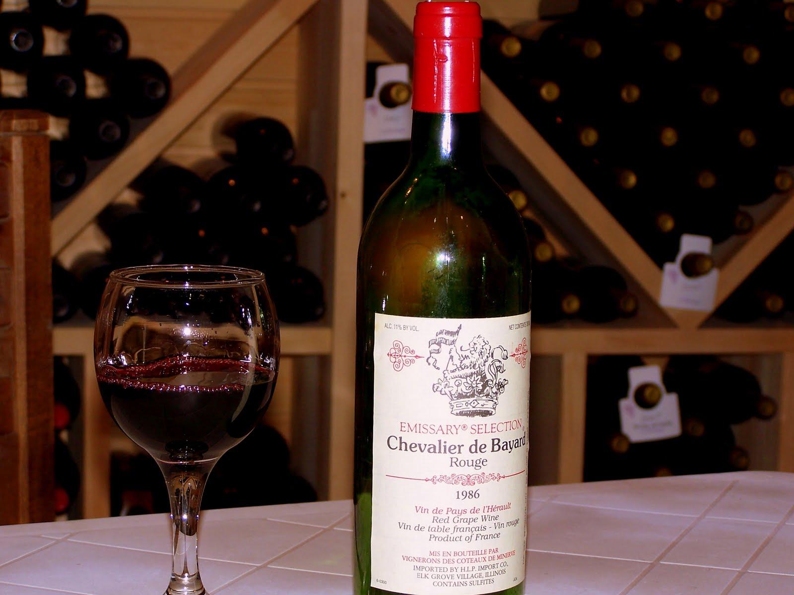The Wine Cellar: 1986 Chevalier De Bayard, Emissary Selection